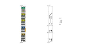 KL3162 | Bus Terminal, 2-channel analog input, voltage, 0…10V, 16bit, differential, high-precision