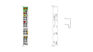 KL3311 | Bus Terminal, 1-channel analog input, temperature, thermocouple, 16bit