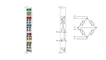 KL3356 | 1-channel accurate resistor bridge evaluation