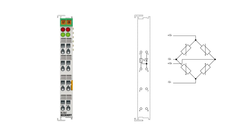 KL3361 | 1-Kanal-Oszilloskopklemme -20…+20 mV