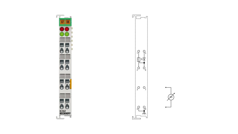 KL3362 | 2-Kanal-Oszilloskopklemme -10…+10 V