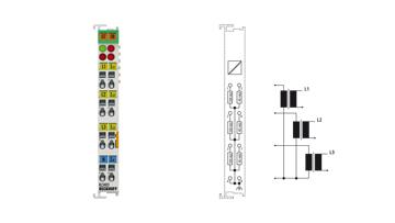 KL3403 | 3-phase power measurement terminal