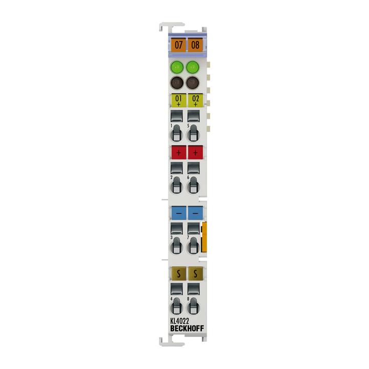 KL4022 | 2-channel analog output terminal 4…20 mA
