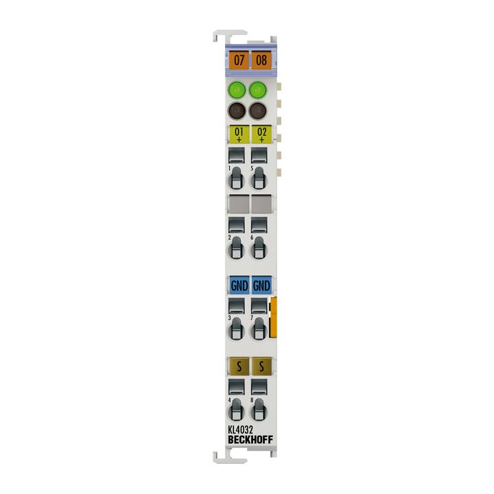 KL4032 | 2-Kanal-Analog-Ausgangsklemme -10…+10V