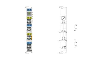 KL4404   4-channel analog output terminal 0…10 V