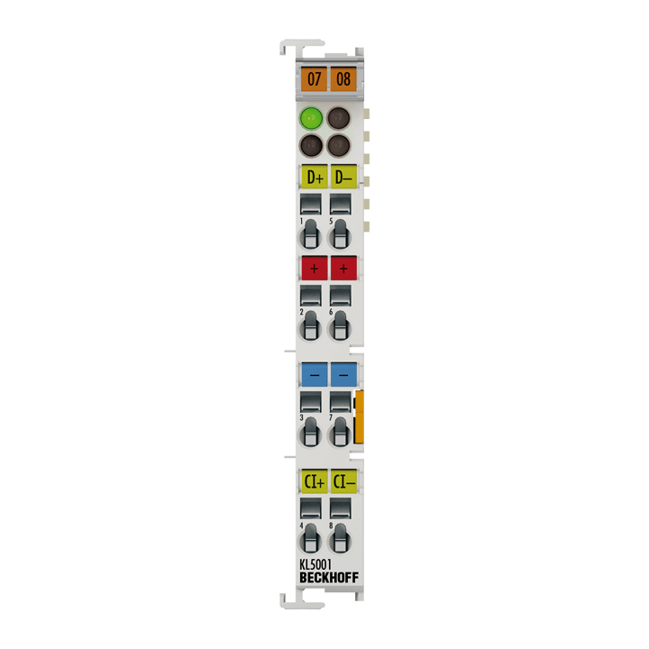 KL5001   Bus Terminal, 1-channel encoder interface, SSI