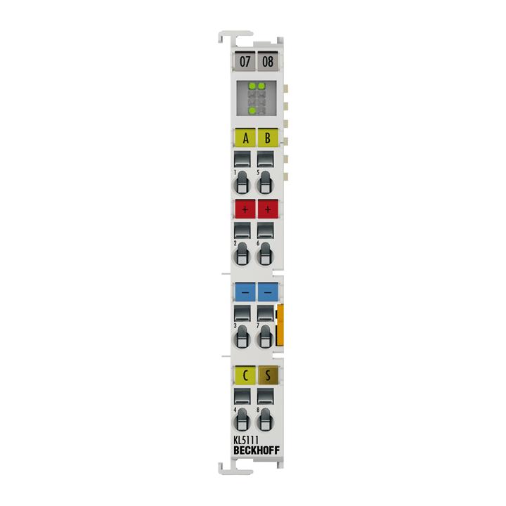 KL5111 | Bus Terminal, 1-channel encoder interface, incremental, 24VDCHTL, 250kHz