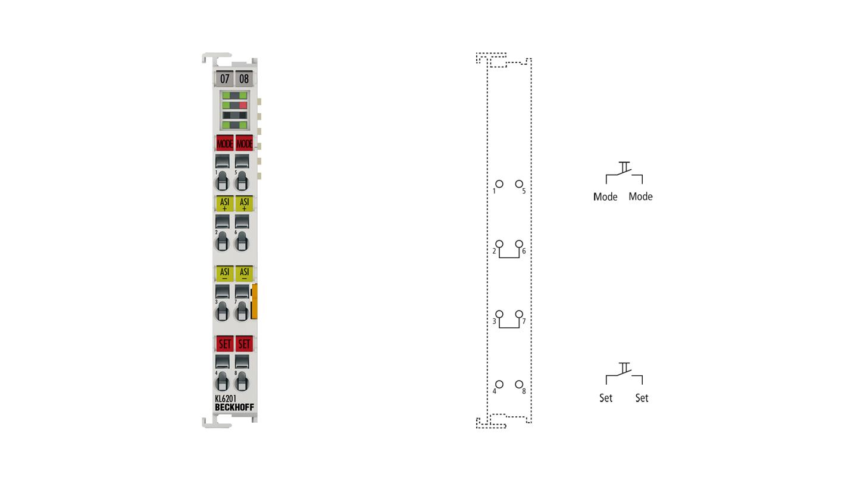 KL6201   AS-Interface-Masterklemme