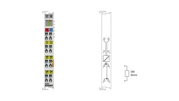 KL6841 | Bus Terminal, 1-channel communication interface, SMI, master, 230VAC
