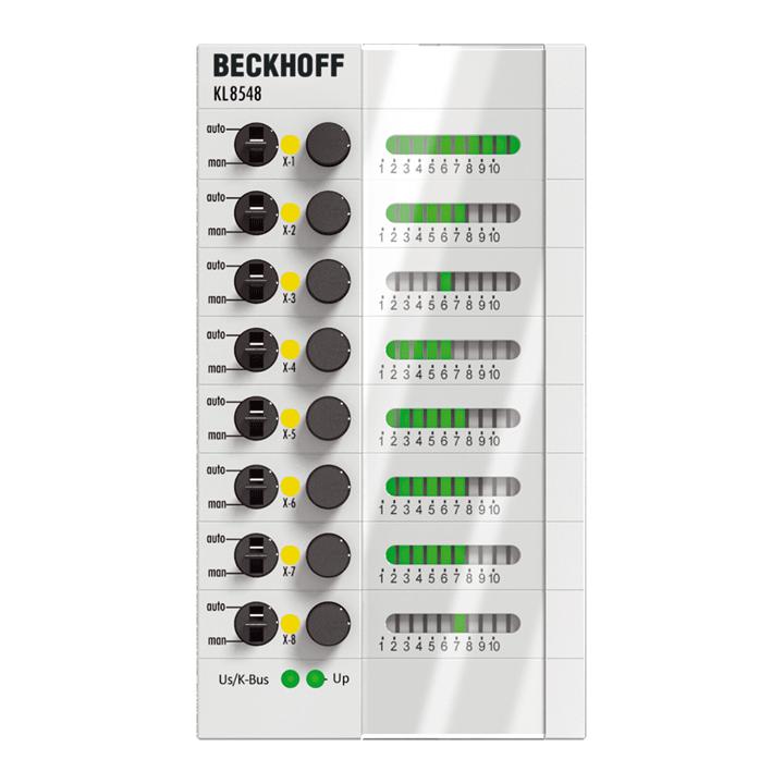 KL8548 | 8-channel analog output module 0…10 V
