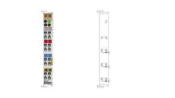 KL9110   Potential supply terminal, 24 V DC, with diagnostics