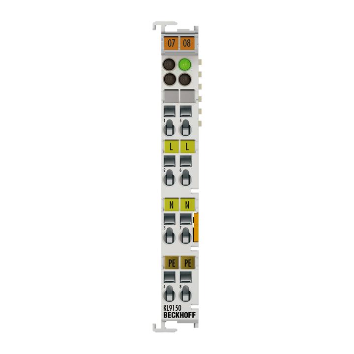 KL9150 | Potenzialeinspeiseklemme, 120…230 V AC