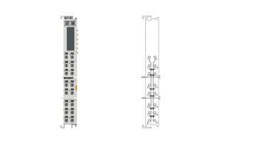KL9181 | Potential distribution terminal, 8 x 2 potentials