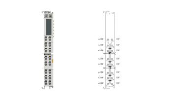 KL9184 | potential distribution terminal, 8x 24VDC, 8x 0VDC