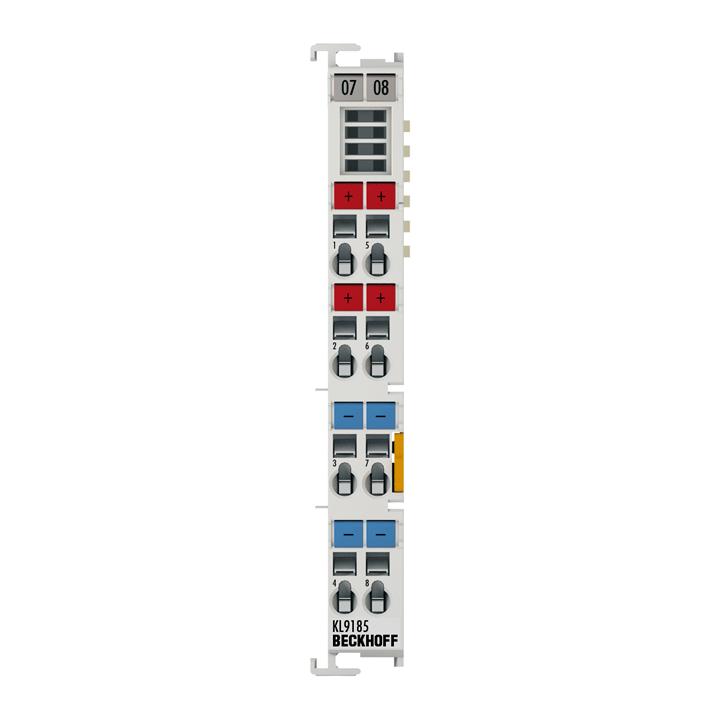 KL9185 | Potenzialverteilungsklemme, 4x 24VDC, 4x 0VDC