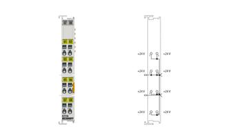 KL9186 | Potential distribution terminal, 8x 24VDC