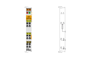 KL9260 | Potential supply terminal, 120…230 V AC, with diagnostics and fuse