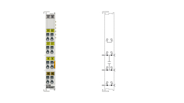 KL9380 | Mains filter terminal for dimmers