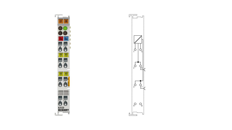KL9520 | AS-Interface-Potenzialeinspeiseklemme mit Filter