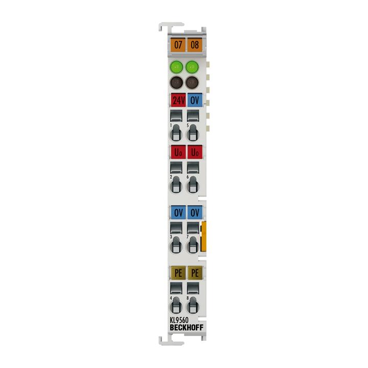 KL9560 | Power supply unit terminal 24 V DC/24 V DC, 0.1 A