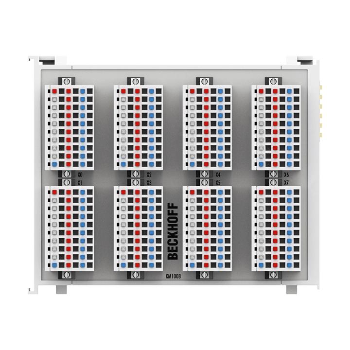 KM1008 | Bus Terminal module, 64-channel digital input, 24VDC, 3ms