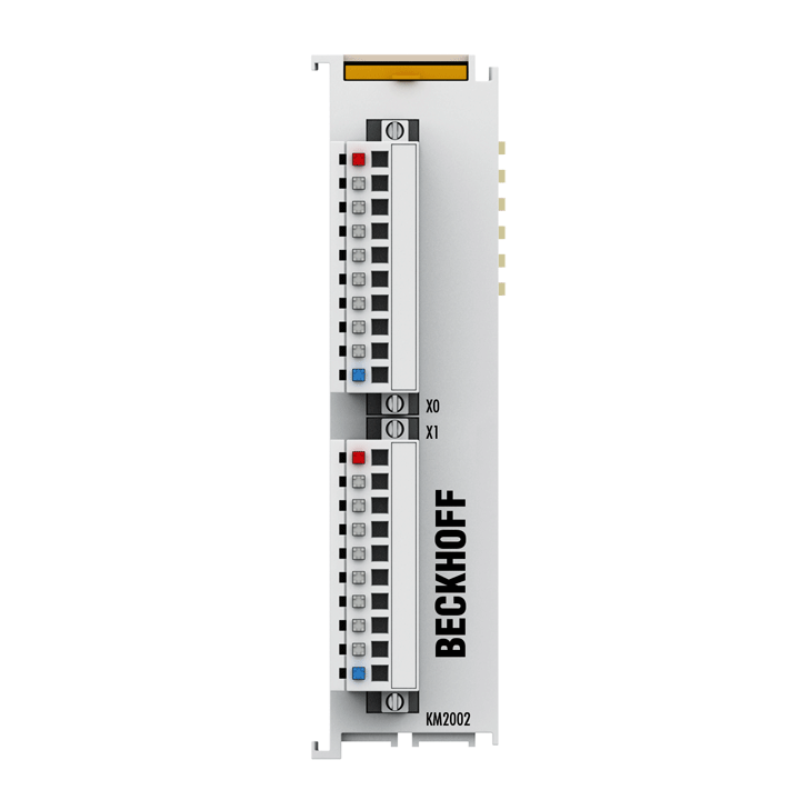 KM2002 | Bus Terminal module, 16-channel digital output, 24VDC, 0.5A