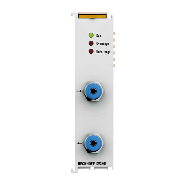 KM3701 | 1-channel differential pressure measuring terminal -100…+100hPa(-100…+100 mbar)