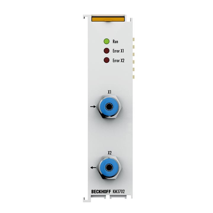 KM3702 | 2-Kanal-Relativdruckmessklemme 7500 hPa (7,5 bar)