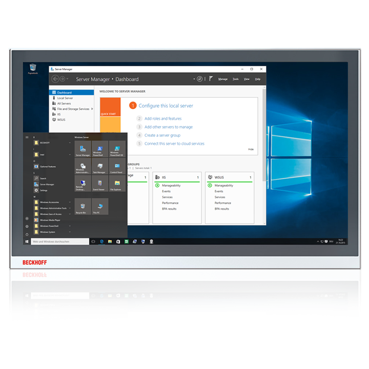 C9900-S46x | Windows Server 2016 für Beckhoff Industrie-PCs