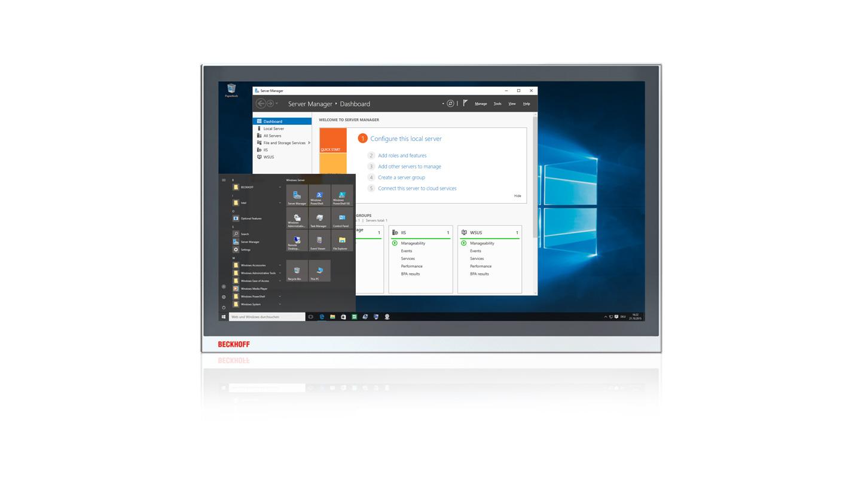 C9900-S49x, C9900-S50x | Windows Server 2019 for Beckhoff Industrial PCs