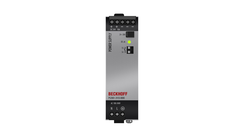 PS2001-2410-0000 | Stromversorgung PS2000; Ausgang: 24VDC, 10A; Eingang: AC100…240V/DC110…150V, 1-phasig