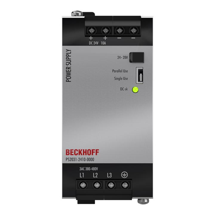 PS2031-2410-0000 | Stromversorgung PS2000; Ausgang: 24VDC, 10A; Eingang: 3AC380…480V, 3-phasig