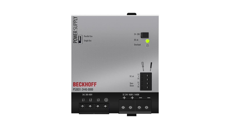 PS3031-2440-0000 | Stromversorgung PS3000; Ausgang: 24VDC, 40A; Eingang: 3AC380…480V, 3-phasig